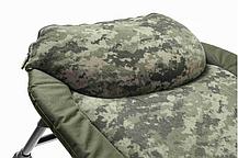 Кровать раскладушка Mivardi карповая рыбацкая CamoCODE Flat8 нагрузка 160кг, фото 2