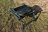 Кровать раскладушка Mivardi карповая рыбацкая CamoCODE Flat8 нагрузка 160кг, фото 6