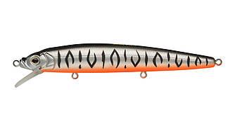Воблер Минноу Strike Pro Alpha Minnow 115, 115 мм, 12,5 гр, Загл. 0,6м.-1,6м., Плавающий, цвет: A243ES Grey