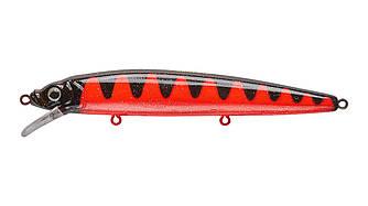 Воблер Минноу Strike Pro Alpha Minnow 115, 115 мм, 12,5 гр, Загл. 0,6м.-1,6м., Плавающий, цвет: A88 Red Devil