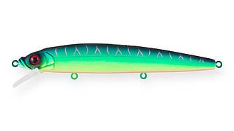 Воблер Минноу Strike Pro Alpha Minnow 115, 115 мм, 12,5 гр, Загл. 0,6м.-1,6м., Плавающий, цвет: A204S Pearl
