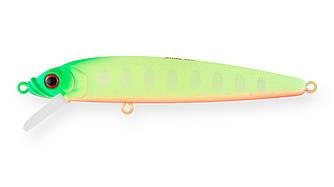 Воблер Минноу Strike Pro Alpha Minnow 95, 95 мм, 9 гр, Загл. 0,6м.-1,6м., Плавающий, цвет: A178S Lemon Mat