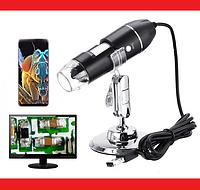 Цифровой USB Микроскоп Digital microscope 50-1000X, фото 1