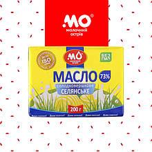 Масло вершкове ГОСТ 73% (пачка 0,2 кг) від Малороганський молочний завод