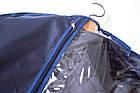 Кофр для одежды  60*100 см (синий), фото 3