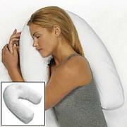 Ергономічна ортопедична подушка для сну Side Sleeper Pro з отвором для вуха