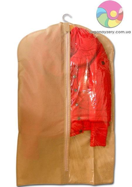Кофр для одежды  60*100 см (бежевый)
