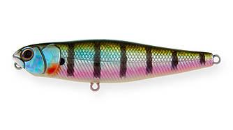 Воблер Волкер Strike Pro Finesse Walking Stick 90, 90 мм, 12,7 гр,  Поверхностный, цвет: 630V Bluegill,