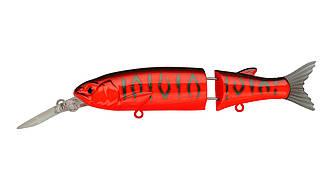 Воблер Составной Strike Pro Glider-X 105L, 105 мм, 14,4 гр, Загл. 1,5м.-3,5м., Нейтральный, цвет: A207 Red