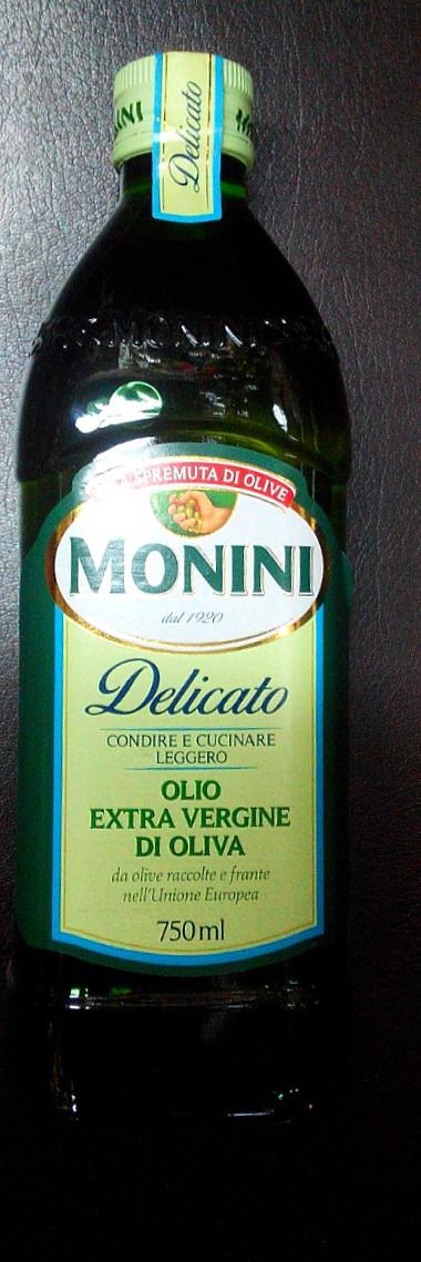 Итальянское оливковое масло первого холодного отжима Монини Monini Delicato 0,75л - Интернет-магазин    импорт.com.ua в Харькове