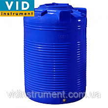 Емкость вертикальная двухслойная 500 литров