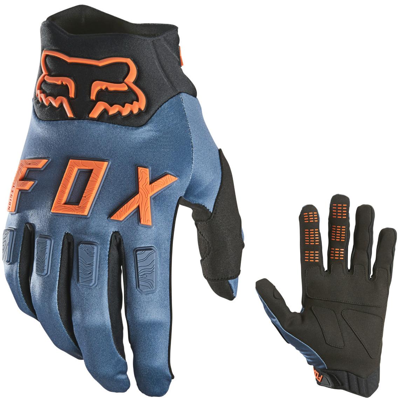 Мотоперчатки FOX LEGION WATER GLOVE - BLACK [Blue Steel] L