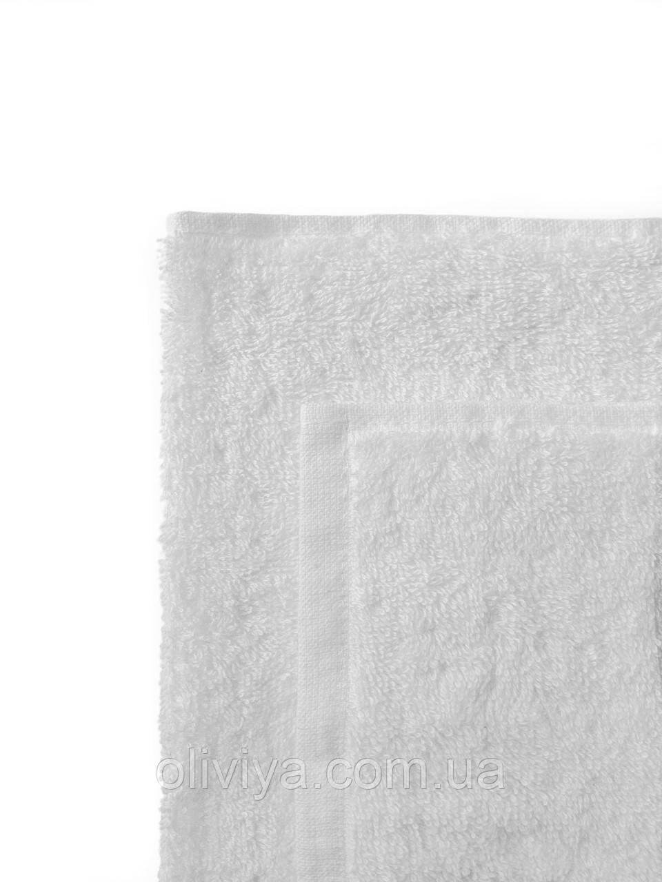 Простирадло махрова 100% бавовна біла