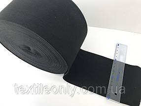 Гумка швейна/білизняна чорна 10 см ( 25 метрів рулон)