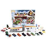 Адвент календарь Машинки Хот Вилс от Hot Wheels (24 фигурки), фото 5