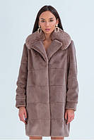 Зимняя эко шуба, «ВИНТЕР», женская модная шуба, теплая куртка, эко кролик