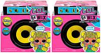 Акционный набор из двух кукол L.O.L SURPRISE! W1 серии Remix Hairflip Музыкальный Сюрприз (566960-А)