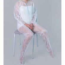 Одноразова продукція для процедур( тапочки, білизна, костюми, простирадла для обгортань)