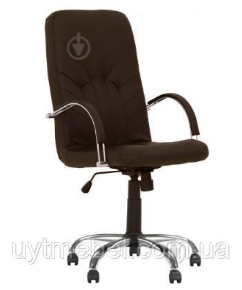 Крісло Manager Steel Chrome (Comfort) ECO-31 (Новий Стиль)