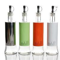 Стеклянная бутылка с дозатором для растительного масла и жидких приправ