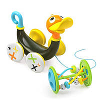 Іграшка-каталка Yookidoo Музична качка, 834
