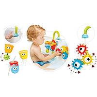 Іграшка для ванної Yookidoo Чарівний кран великий набір, 962