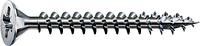 Саморез SPAX с покр. WIROX 4,5х45, полная резьба, потай, PZ2, 4CUT, упак. 200 шт., пр-во Германия