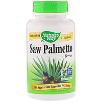 Со Пальметто, Nature's Way, экстракт, 585 мг, 180 капсул