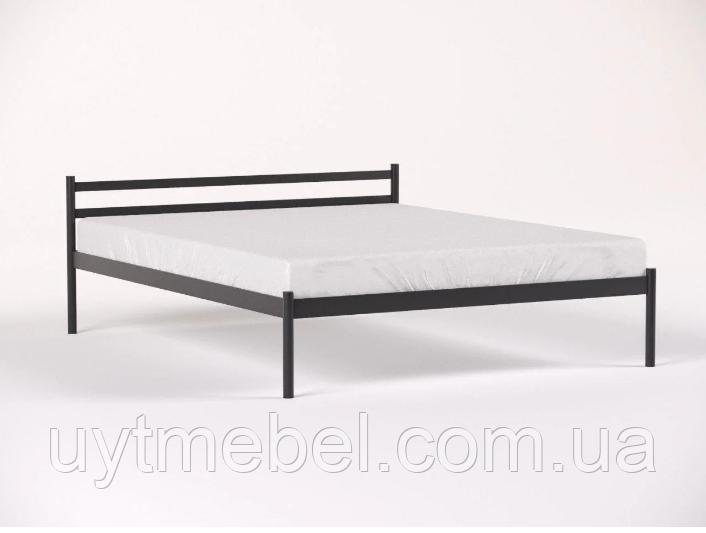 Ліжко COMFORT-1 1600х1900 чорний мат (МЕТАКАМ)