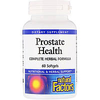 Здоровье простаты, Natural Factors, 60 капсул