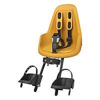 Детское велокресло Bobike Mini ONE / Mighty mustard (ST)