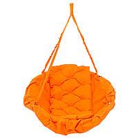 Кресло-гамак 100 кг 80 см Оранжевое