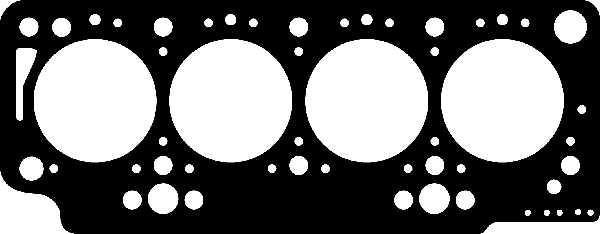 Прокладка головки блока RENAULT F8Q 1.40MM 2R FIBER (Corteco). 414319P