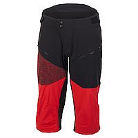 Велошорты Ghost Ridge Line, XL, черно-красные (ST)