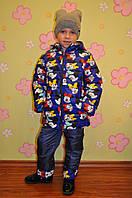 Куртка на синтепоне для мальчика Микки