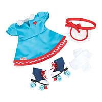 Набір одягу для ляльок Our Generation плаття з роликами BD60013Z, 798