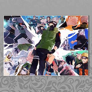 Плакат Аниме Naruto 048