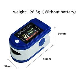 Портативный пульсоксиметр на палец Fingertip Pulse Oximeter Yonker YK-75