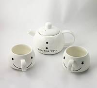 Набор для чая Снеговик