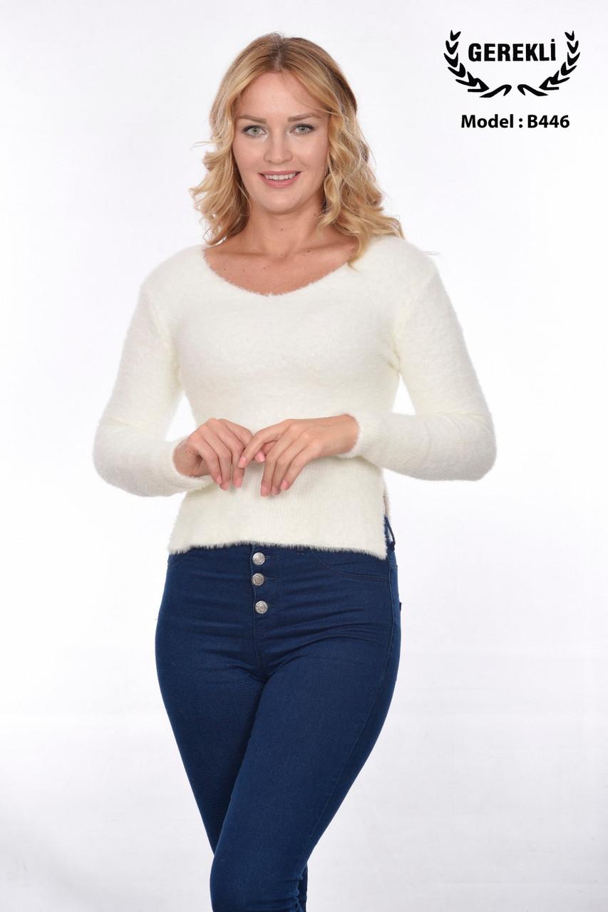 Пушистый свитерок турецкий Gerekli 446 (в расцветках 42-46)