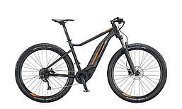 """Электровелосипед KTM MACINA ACTION 291 29"""", рама L, черно-оранжевый, 2020 (ST)"""