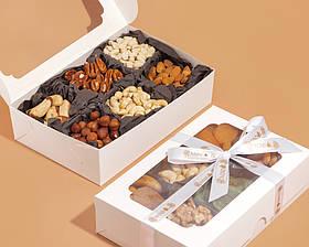 Подарочный набор из  сырых орехов