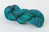 Пряжа Aade Long Kauni, Artistic yarn 8/2 Blue II (Синий 2), 236 г, фото 4