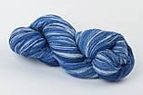 Пряжа Aade Long Kauni, Artistic yarn 8/2 Blue II (Синий 2), 236 г, фото 6