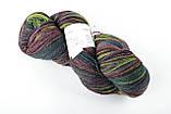 Пряжа Aade Long Kauni, Artistic yarn 8/2 Brown Pink (Коричнево-Рожевий), 252 г, фото 3