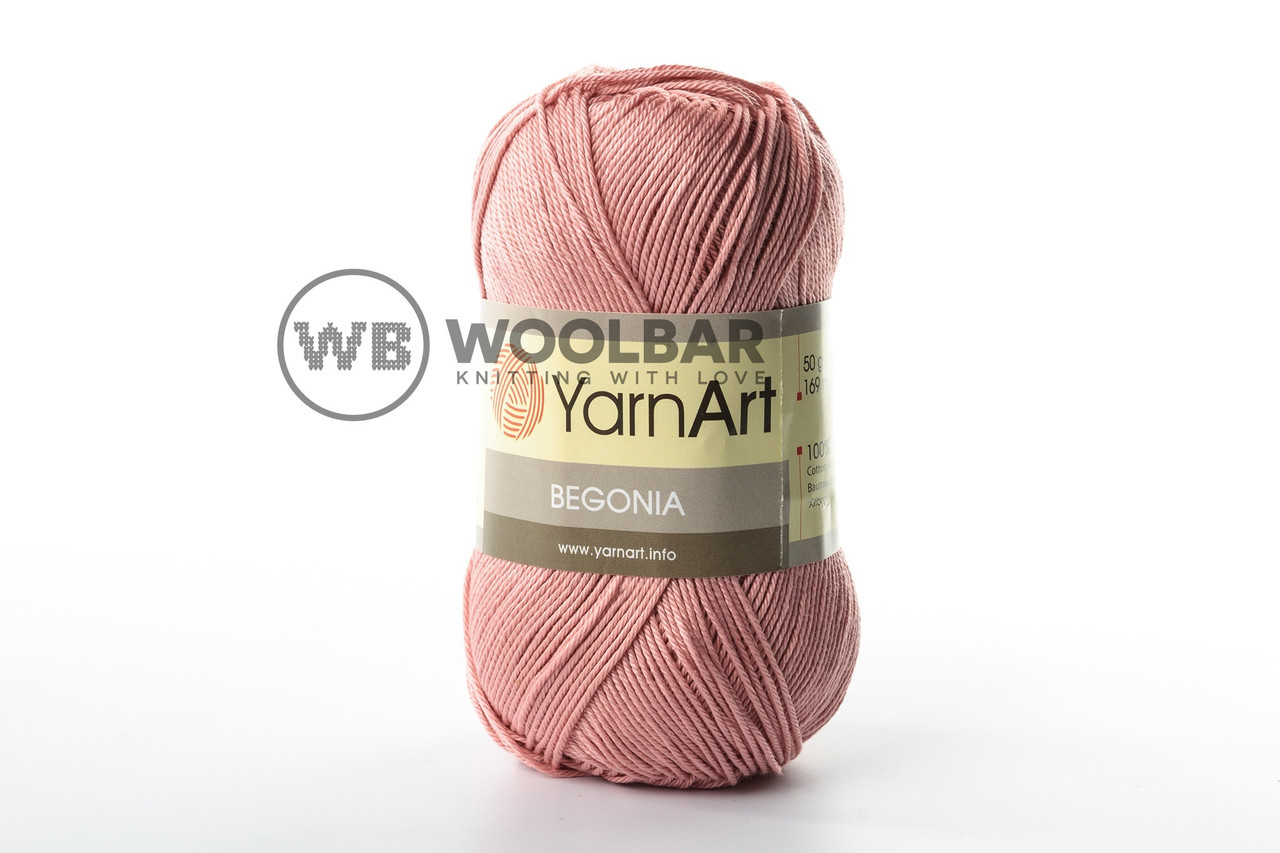 Пряжа YarnArt Begonia 4105 розовый пастельный
