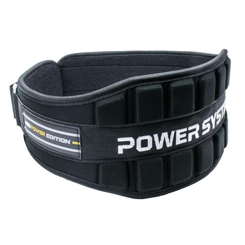 Пояс неопреновый для тяжелой атлетики Power System Neo Power PS-3230 Black/Yellow L