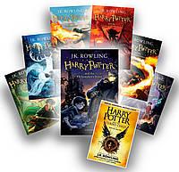Гарри Поттер на английском языке. Комплект книг. Harry Potter series. 8 books.