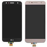 Дисплей для LG X Power 2 K10 M320, M320G, M322, M327, X320, X500, модуль в сборе (экран и сенсор), оригинал