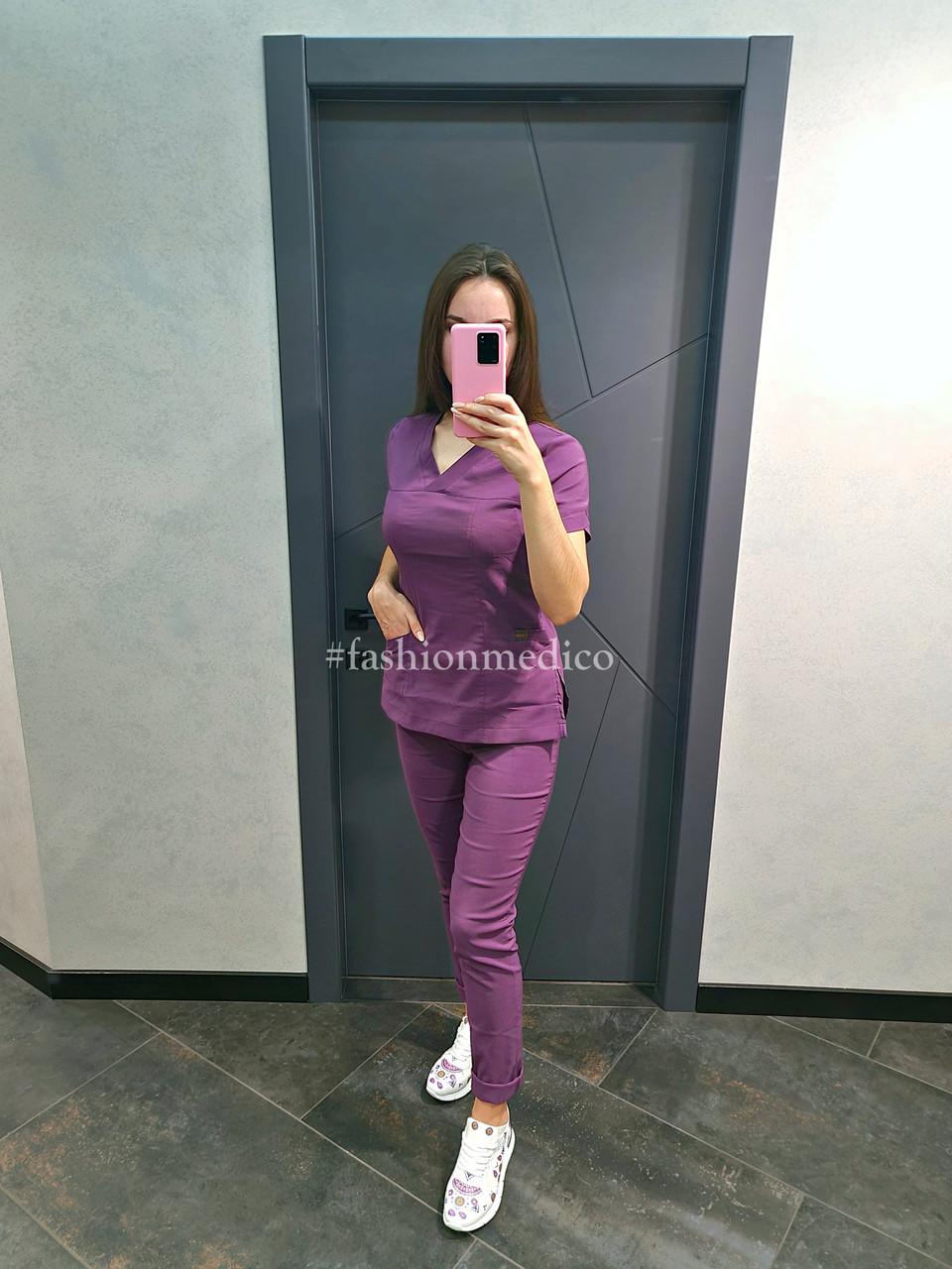 """Жіночий медичний костюм """"Ластик"""""""